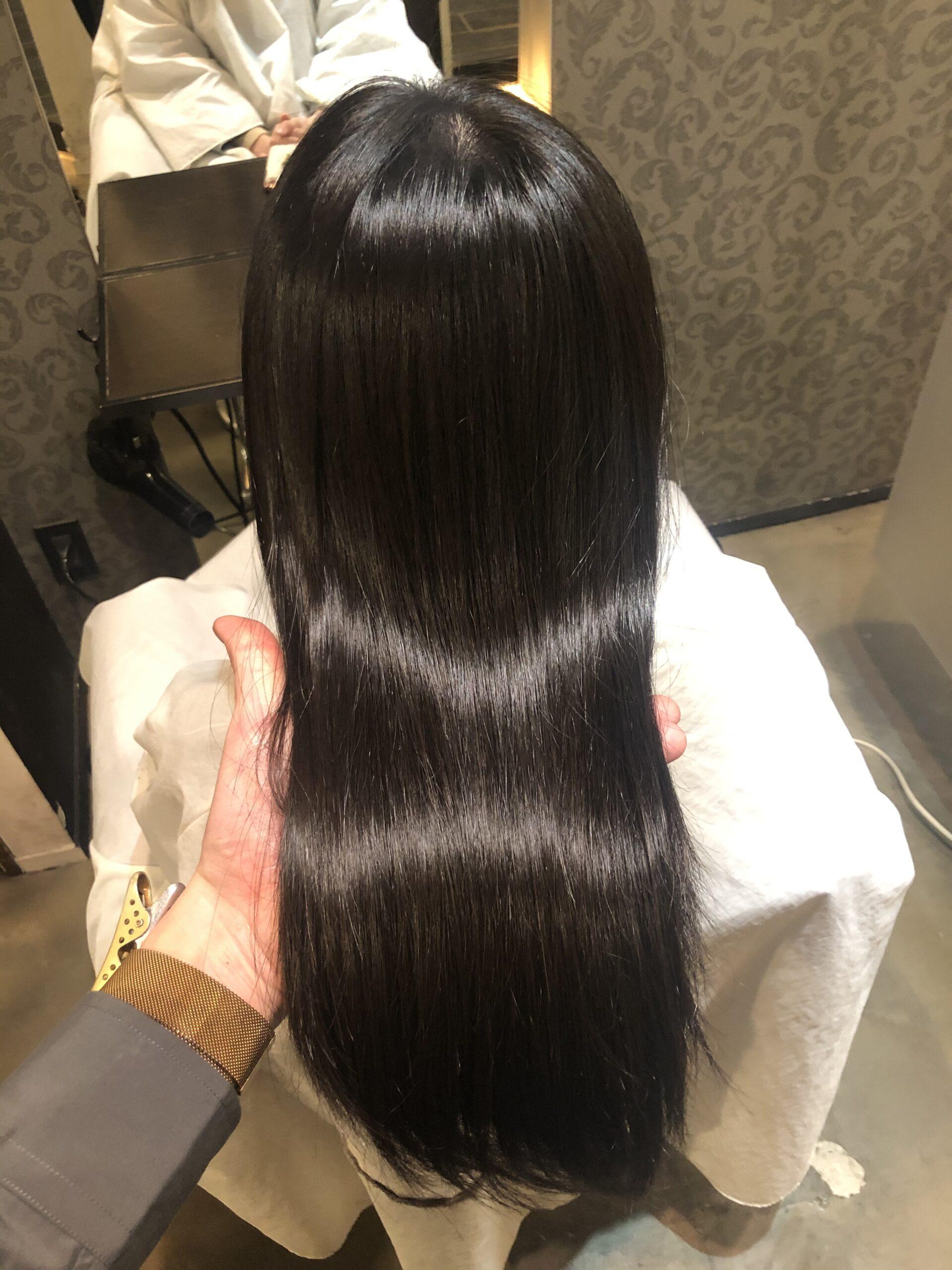 縮毛矯正×ロング 綺麗な髪にするために必要な2つのこと